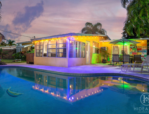 Pompano Beach, South Florida: Pool & Tiki Oasis Steps From Trendy Atlantic Blvd
